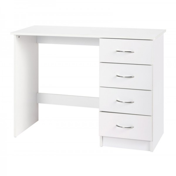 Alpha White Gloss Two Tone Dressing Table