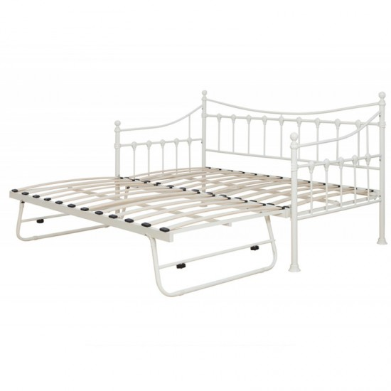 Jasmine Ivory Cream Daybed With Trundle