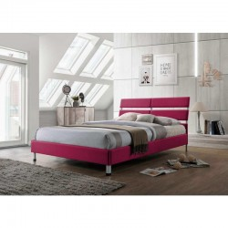 Eden Pink 3ft Fabric Bed