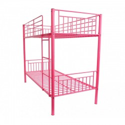 Montreal Pink Single Bunk Bed