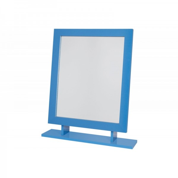 Marina Blue Freestanding Mirror