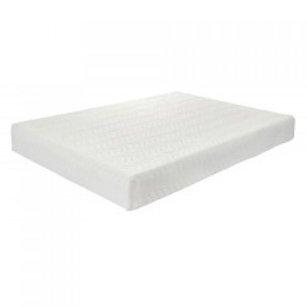 "4ft EuroMEM 7"" Reflex Foam + 3"" Memory Foam Roll Up 10"" Mattress"