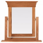Doral Oak Dressing Table Mirror