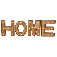 Home Word Letters with LED Lights