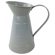 Flowers and Garden Grey Jug 19cm