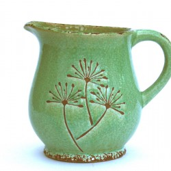 Spring Green Small Wide Jug
