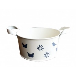 Cream Enamel Bowl- Small