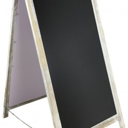 Fold Out Chalkboard Pavement Sign 98cm