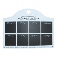 Heart Of The Home Weekly Blackboard Kitchen Planner