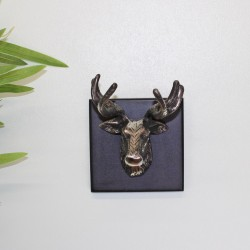 Single Stags Head Wall Mounted Ornament