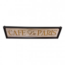 Cafe De Paris Mirror Sign
