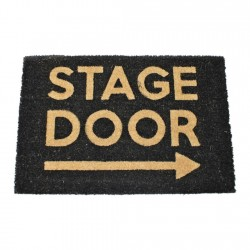 Stage Door Arrow Doormat, 60x40cm
