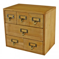 6 Drawer Storage Unit Trinket Drawers