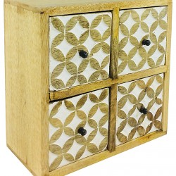 Cabinet With 4 Drawers 23cm