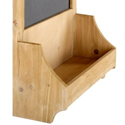 Chalk Board with Shelf 37 x 13 x 58 cm