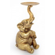Elephant Candle Holder 22cm