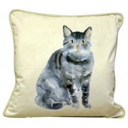 Cat Cushion 45cm