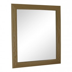 Light Oak Effect Mirror 59cm