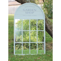 60x100cm Potting Shed Mirror, Green