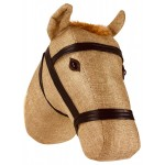 Fabric Wall Mounted Horse Head 30cm