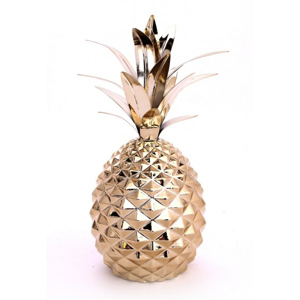 Gold Pineapple 30cm