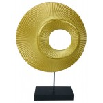 Gold Circular Ornament 35cm