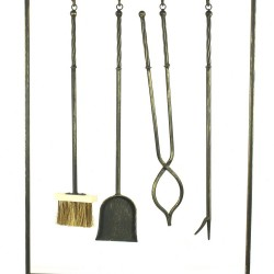 Fireside Companion Set With 4 Tools