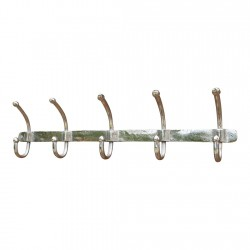 Metal Five Hook Coat Hanger 70cm