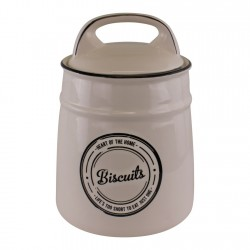 Heart Of The Home Ceramic Biscuit Barrel