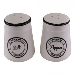 Heart of The Home Ceramic Salt & Pepper Pots