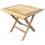 Sqaure Teak Picnic Table