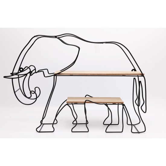 Elephant Wall Shelf