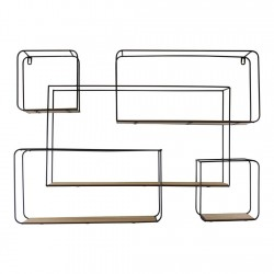 Extra Large Rectangular Metal Wall Shelf