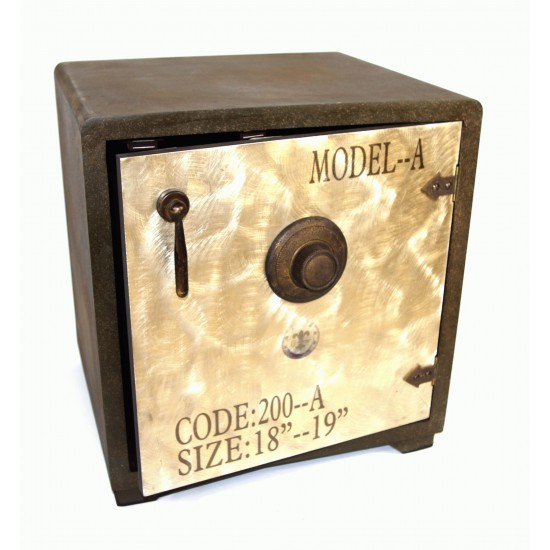 Wooden Cabinet Security Safe Style 40 x 45 x 48cm