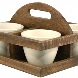 Bowl/Planter Tray with Handle