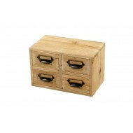 Storage Drawers (4 drawers) 25 x 15 x 16 cm