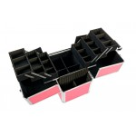 Beautician Makeup Trolley Box Pink