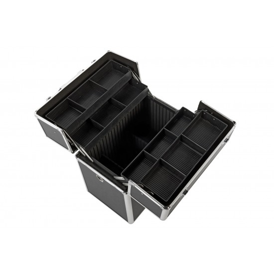 Vanity Case / Makeup Box Box Black