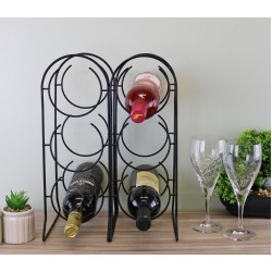Freestanding 6 Bottle Wine Holder
