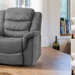 Micro Fibre Armchair Recliners