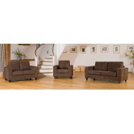 Faux Suede Fabric Sofas