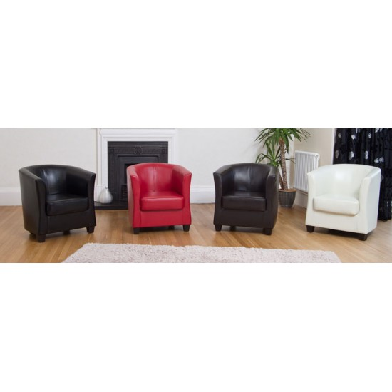 Leather Tub Chairs