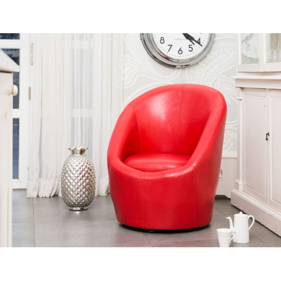 Tub Chairs Bonded Leather