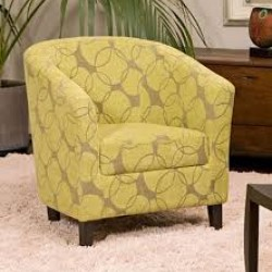 Tub Chairs Fabric Covered