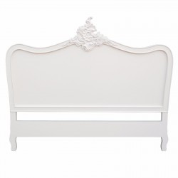 French Cream 5ft King Size Headboard