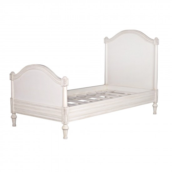 Aged Ivory Single 3ft Bed