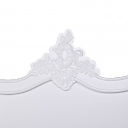 French White Single 3ft Headboard