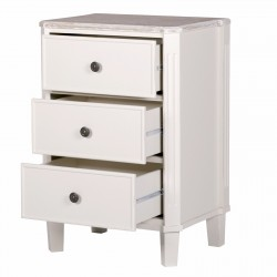 Country Cottage Pale Cream Bedside