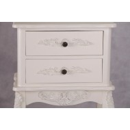 French Antique Cream Bedside