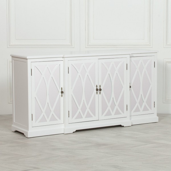 Breakfont White Mirror Front Sideboard